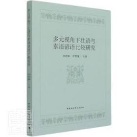 全新正版图书 多元视角下壮语与泰语谚语比较研究周艳鲜中国社会科学出版社9787520380652 谚语对比研究壮语泰语本书适用于语言学研究人员东方博古书城