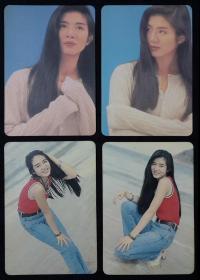 90年代YES明星卡—杨采妮(4张)