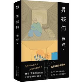 男孩们❤ 杨好 北京十月文艺出版社9787530221501✔正版全新图书籍Book❤