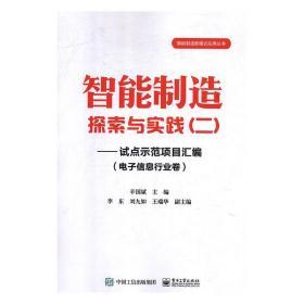 智能制造探索与实践(二) 辛国斌 9787121342097