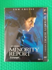 少数派报告 DVD-9