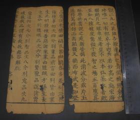 稀见元代刻本《妙音菩萨品》存四折;罕见元刻见证中国古代的伟大发明。刊刻精良,字迹清晰,书写堪称楷书范本