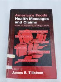 america's foods health messages and claims   美国的食品的健康信息和索赔 英文版