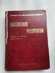 electrostatic precipitation     静电沉淀 英文版