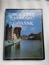 beautiful historic Gdańsk     格但斯克的美丽的历史 波兰语 原版彩色画册