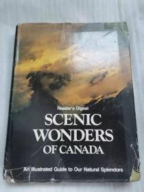 SCENIC WONDERS OF CANANDA 加拿大的风景名胜   英文版 精装 1976年印