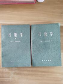 代数学(两册)