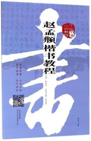 赵孟頫楷书教程(中国书法培训教程) 正版 书籍 书法字画