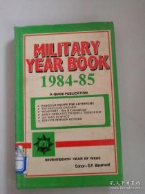 MILITARY YEAR BOOK1984-85军事年鉴(英文版)