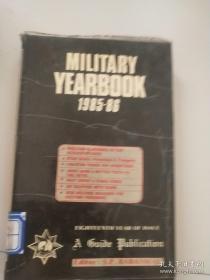 MILITARY YEARBOOK1985-86军事年鉴(英文版)
