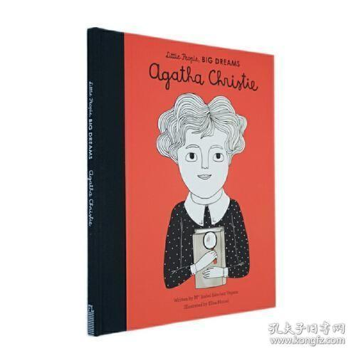 英文原版Agatha Christie小女孩大梦想