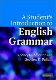 预售 英文预定 A Student's Introduction to English G