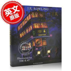 原版全新现货 哈利波特与阿兹卡班的囚徒 插画精装版 英文原版 Harry Potter and t