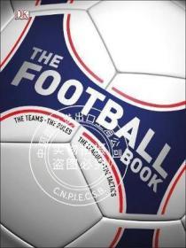 原版全新现货 DK足球书:队伍,规则,联赛,战术 英文原版 The Football Book