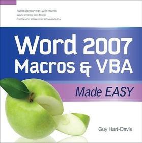 Word 2007 Macros and VBA Made Easy