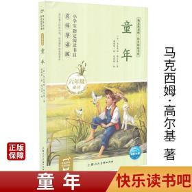 童年 快乐读书吧名师导读版小学生六年级阅读上海人民美术出版社