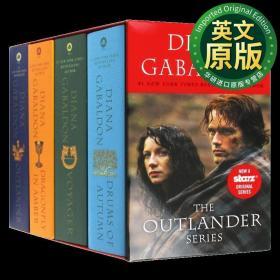 异乡人1-4册盒装 英文原版小说 Outlander 1-4 Copy Boxed Set