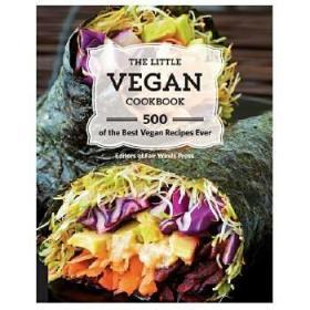 【预订】小小素食谱 The Little Vegan Cookbook:500 Best Vegan Recipes Ever 素食菜谱 英文生活原版图书