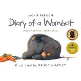 预售 英文预定 Diary of a Wombat
