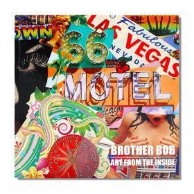 现货包邮 Brother Bob Art from the inside 鲍勃兄弟作品 艺术拼贴杂志画册 英文原版
