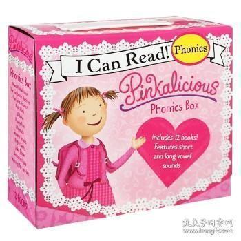 Pinkalicious Phonics Box Set