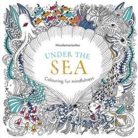 现货 英文原版 Under the sea 减压涂鸦填色书 秘密花园系列