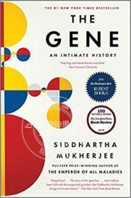 现货 基因:亲密的历史 英文原版 The Gene: An Intimate Histor