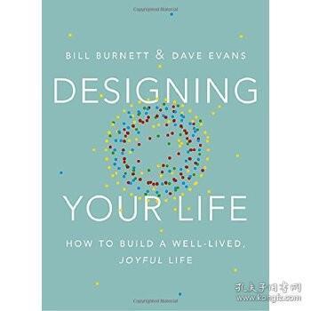 【现货】英文原版 设计你的生活(斯坦福大学人生设计课) Designing Your Life 如何设计充实且快乐的人生 纽约时报畅销书 个人规划书