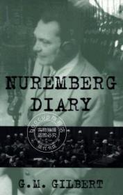 预售 英文预定 Nuremberg Diary