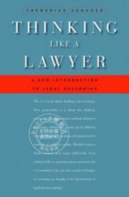 ThinkingLikeaLawyer:ANewIntroductiontoLegalReasoning