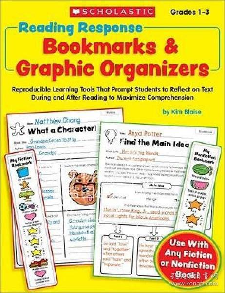 ReadingResponseBookmarks&GraphicOrganizers