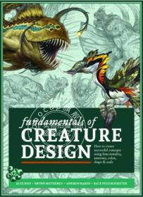 现货 生物设计基础 英文原版 Fundamentals of Creature Desig