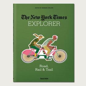 现货纽约时报探险家道路铁路小径NYT Explorer Road Rail & Trail