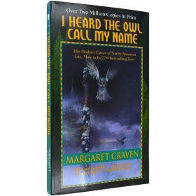 现货英文原版I Heard the Owl Call My Name听见猫头鹰叫我的名字