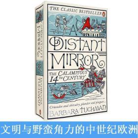 现货英文版A Distant Mirror远方之镜动荡不安的14世纪塔奇曼