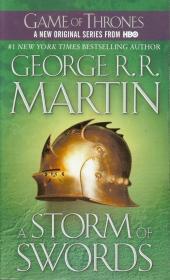 现货英文原版A Storm of Swords 冰与火之歌系列冰雨的风暴