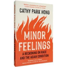 现货英文原版Minor Feelings少数派的感觉Cathy Park Hong