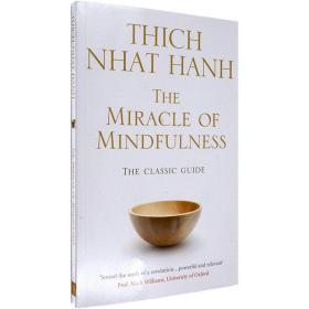 现货英文原版The Miracle Of Mindfulness正念的奇迹一行禅师