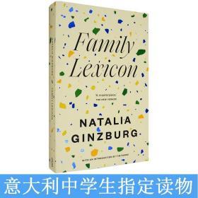 现货英文原版Family Lexicon家庭絮语Natalia Ginzburg金兹伯格