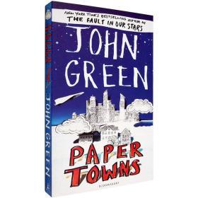 现货英文原版Paper Towns纸镇John Green约翰格林畅销小说