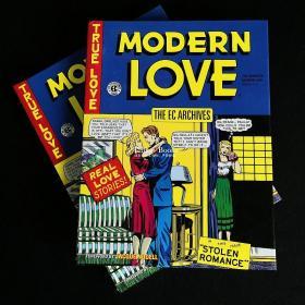 现货正版 EC漫画系列 The EC Archives: Modern Love