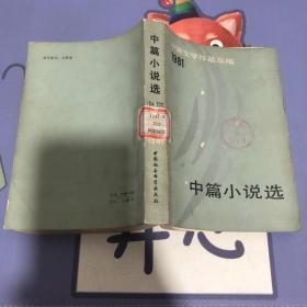 中篇小说选 中国文学作品年编1981