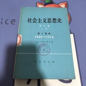 社会主义思想史 第三卷 上册 1889—1914