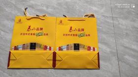 泰山品牌(香烟外包装袋)两个合售