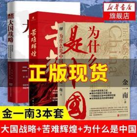 大国战略 苦难辉煌 为什么是中国 金一南 从百年沧桑到民族复兴直