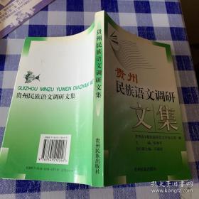 贵州民族语文调研文集