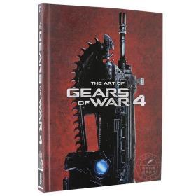 战争机器4 英文原版 The Art of Gears of War 4 游戏艺术设定集