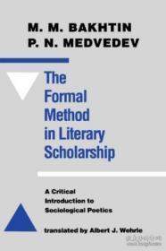 The Formal Method In Literary Scholarship
