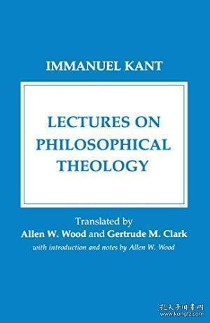 Lectures On Philosophical Theology