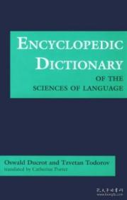 Encyclopedic Dictionary Of The Sciences Of Language
